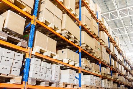 Warenlager, Lagerung, Hochlager, Regale, Waren in Aschaffenburg und Miltenberg